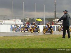 Red Bull Rookies Cup to MotoGP selection 2004