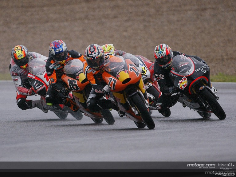 The best of the 125 action at Jerez