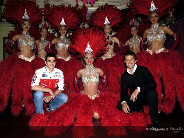 Moulin Rouge Paris - De Puniet & Capirossi