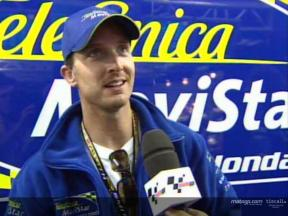 Intervista a Colin EDWARDS post QP1
