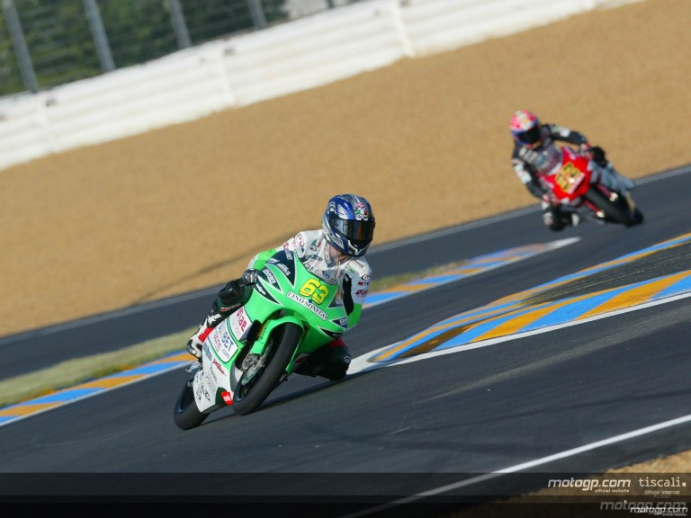 125 Circuit Action Shots - Le Mans