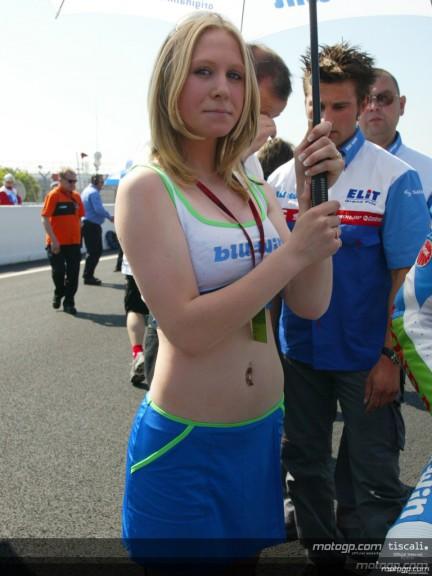 Paddock girls Le Mans
