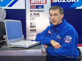 New electronics spark improvement for Team Suzuki