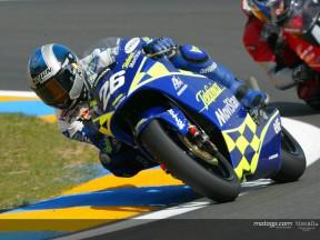 Pedrosa action Le Mans 2004