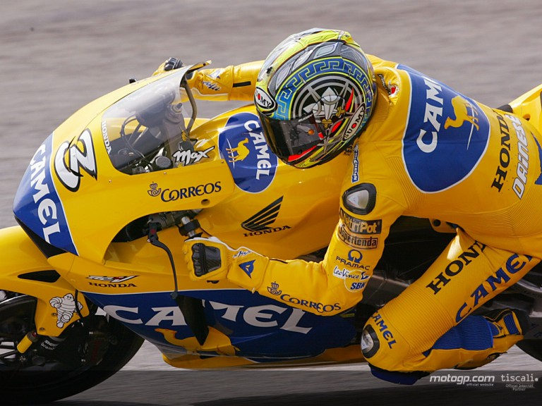 Biaggi action IRTA Test 2004