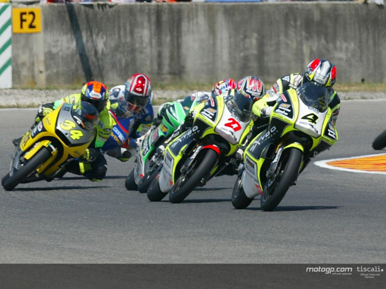 Group 125 action Mugello 2003