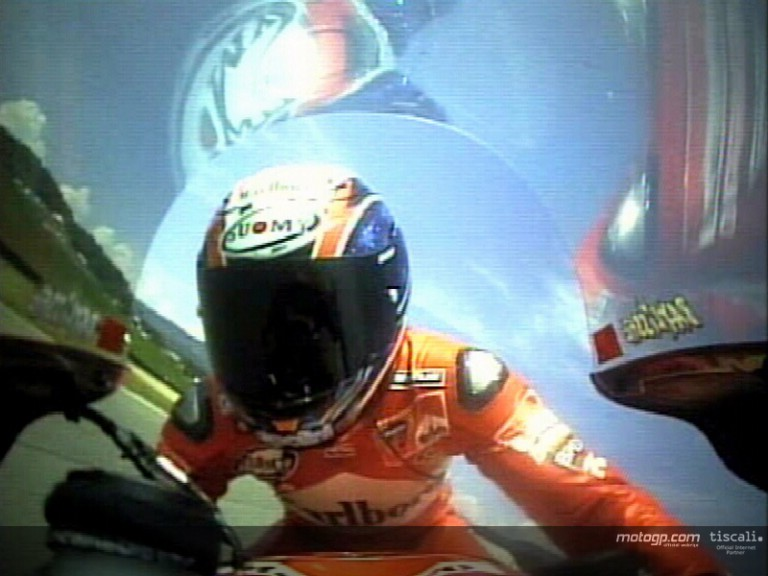 On-board Bayliss Mugello 2003