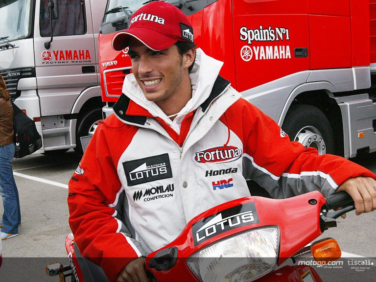 Elias paddock Jerez 2004
