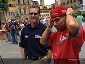 MotoGP riders visit the sights of Florence