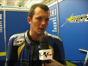 Interview de Andrew PITT apres QP1