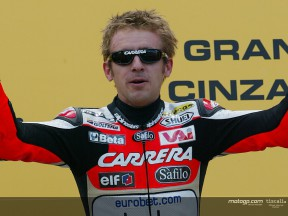 Locatelli podium Mugello 2004