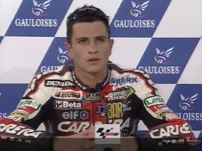 Interview de Randy DE PUNIET apres QP2