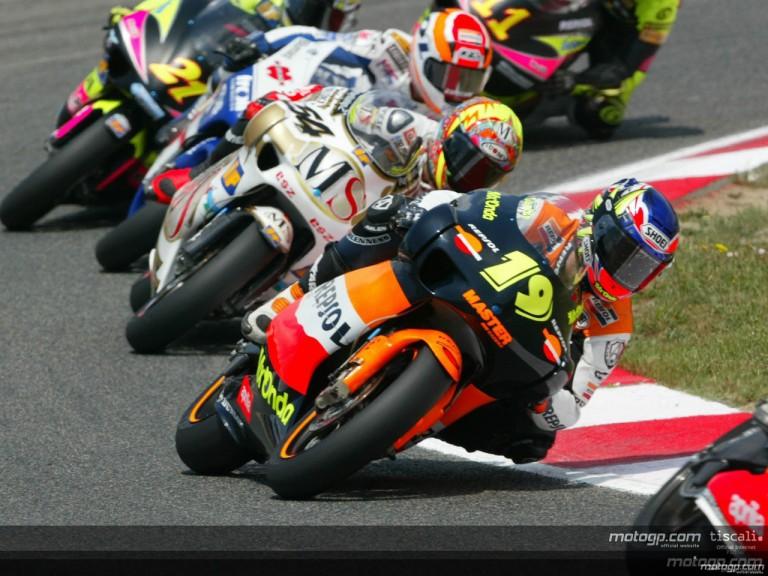 250cc Circuit Action Shots