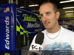 Colin Edwards interview after the Catalunya test