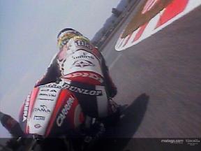Randy de Puniet & Daniel Pedrosa last lap at Catalunya