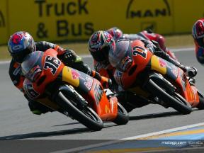 Kallio & Stoner action Le Mans 2004
