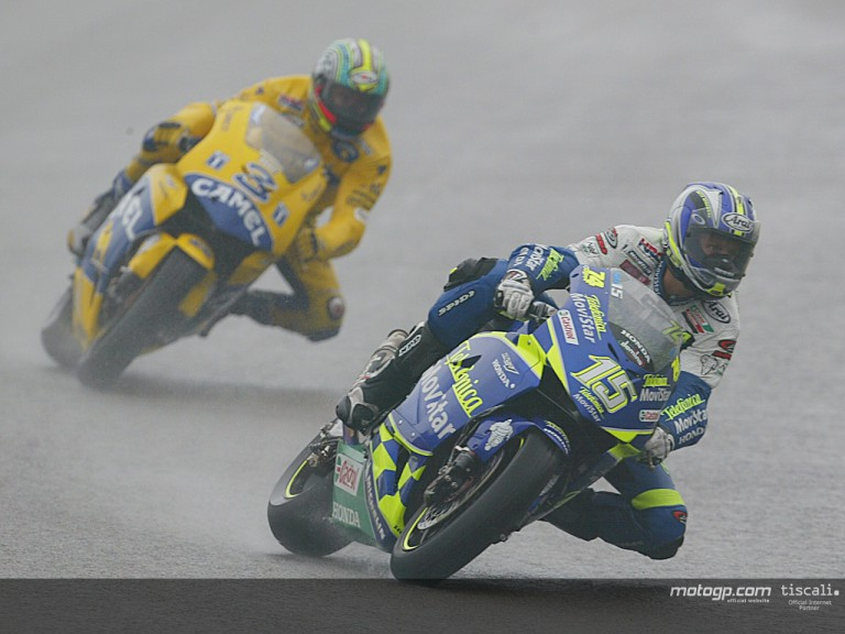 Group MotoGP action 2003