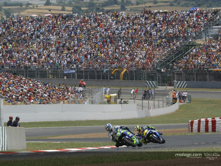 Gibernau & Rossi Catalunya 2004