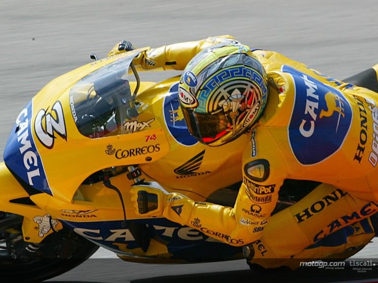 Biaggi action Mugello 2004
