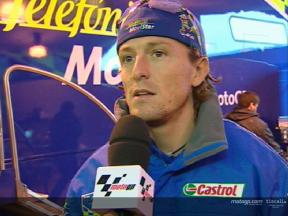 Sete Gibernau interview after the QP1