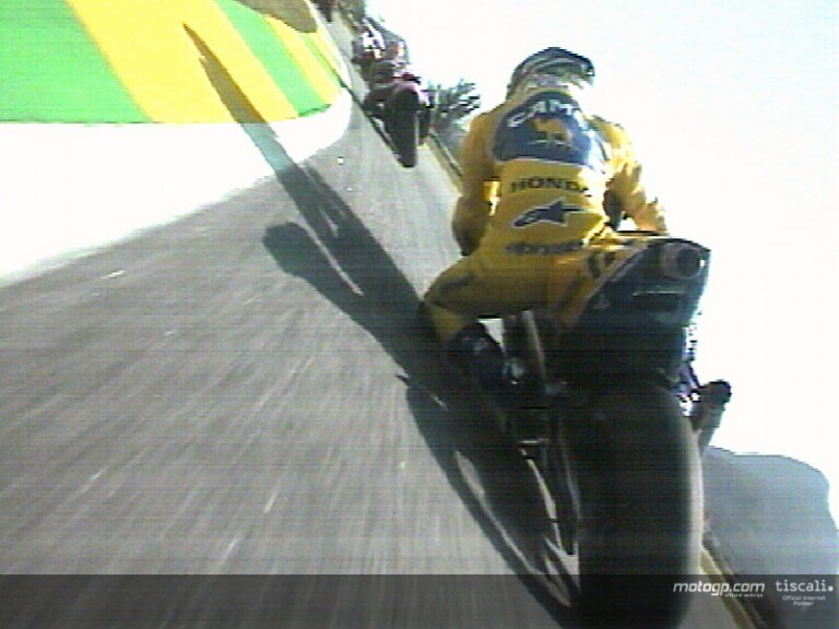 On board Motogp Rio 2003