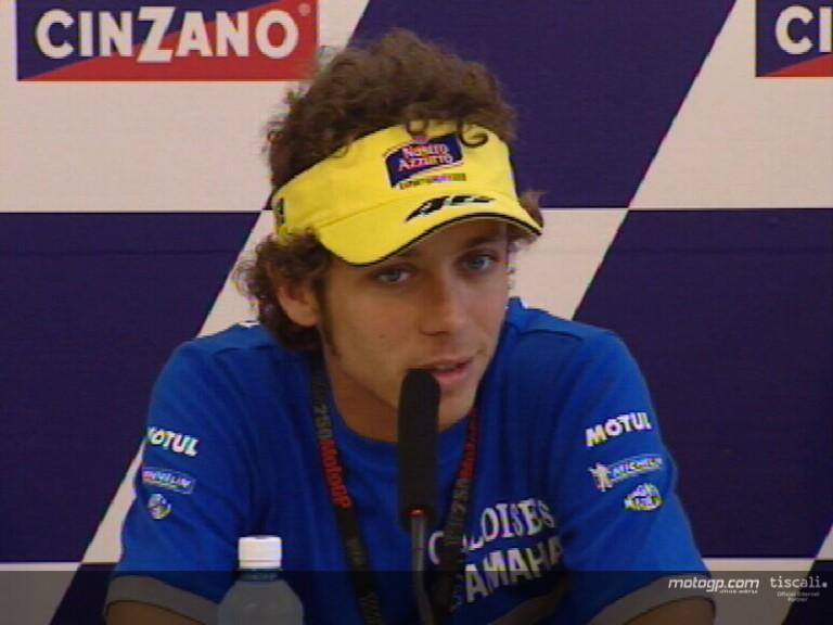 Valentino ROSSI pre-event interview - Rio