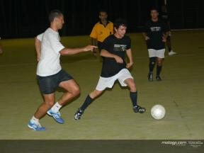 Samba soccer stars warm up for MotoGP
