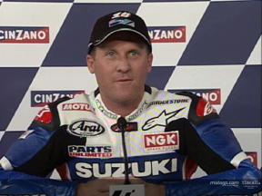 Kenny Roberts Interview after the QP2