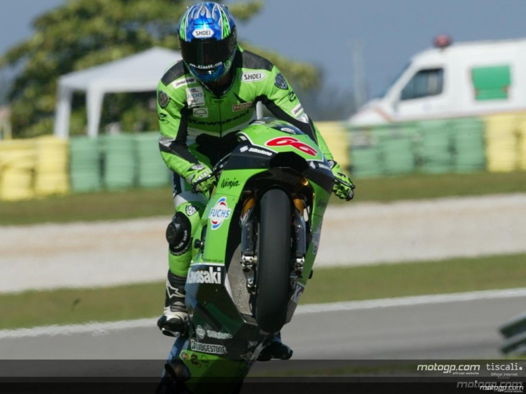 MotoGP Circuit Action Shots - Nelson Piquet