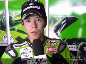 決勝レース: 中野 インタビュー