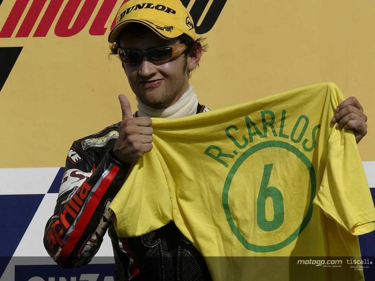 Barbera podium RIo 2004