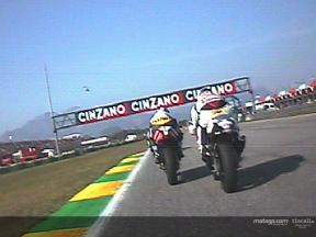 250cc race start at Rio onboard with Matsudo