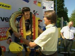 Red Bull Rookies podium