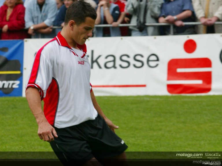 Riders for Health football charity match in Germany