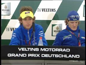 Pre-event Press Conference at Sachsenring