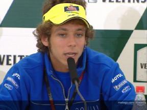 Valentino Rossi Interview vor dem Rennen - Sachsenring