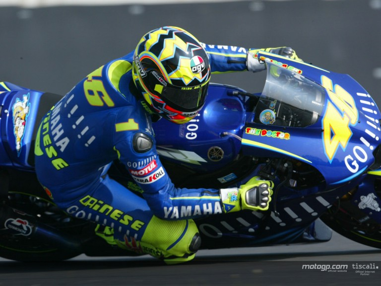 Rossi action Le Mans 2004