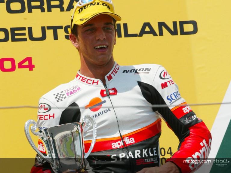 De Aneglis podium Sachsenring 2004
