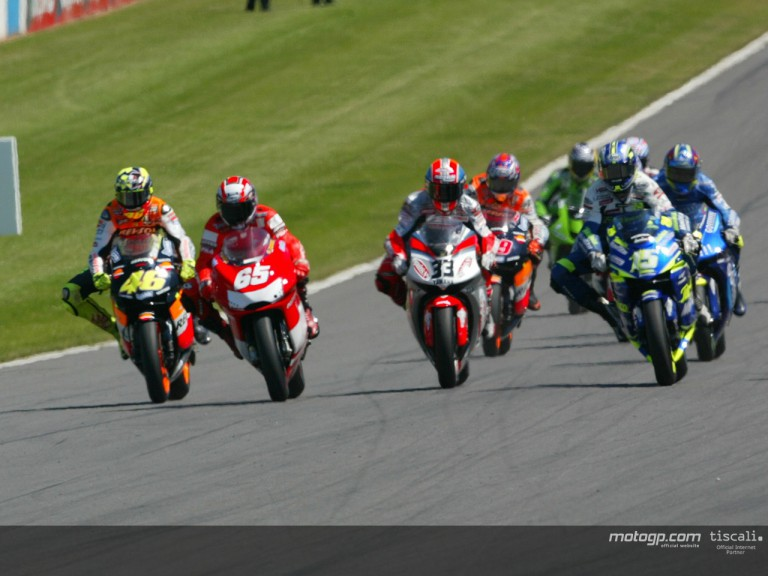 Group motogp Donington 2003