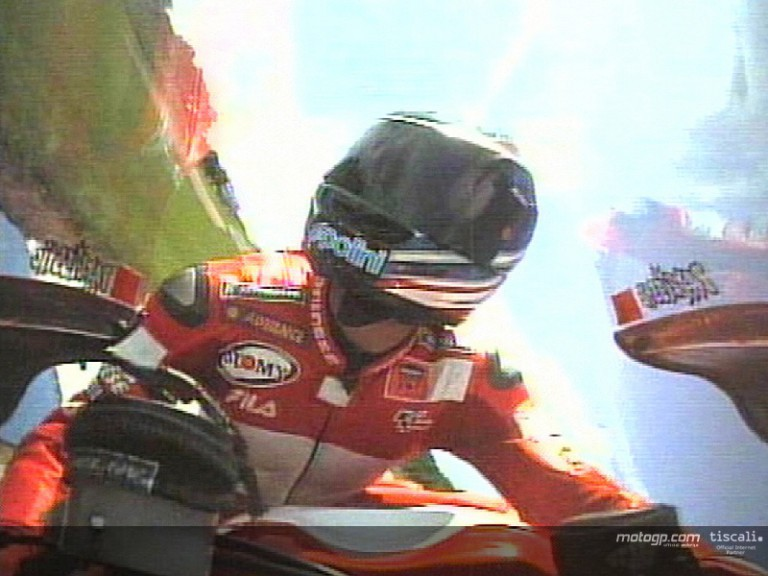Onboard donington 2003