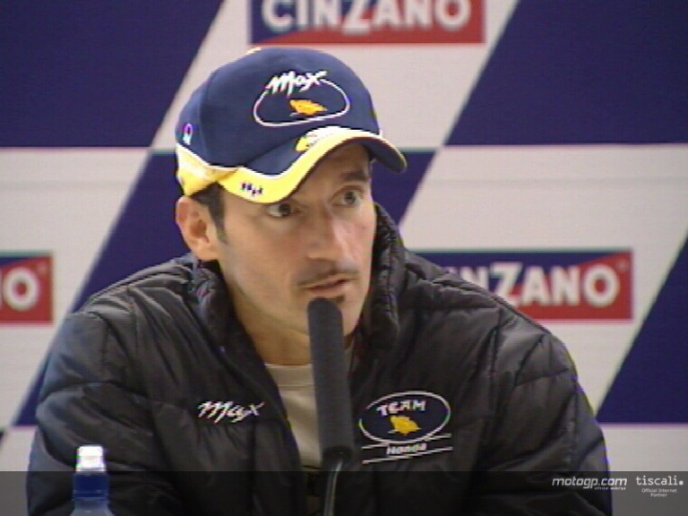 Max Biaggi pre-event interview - Donington Park