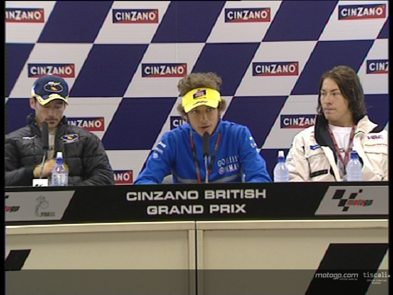 Pre event Press Conference at Donington