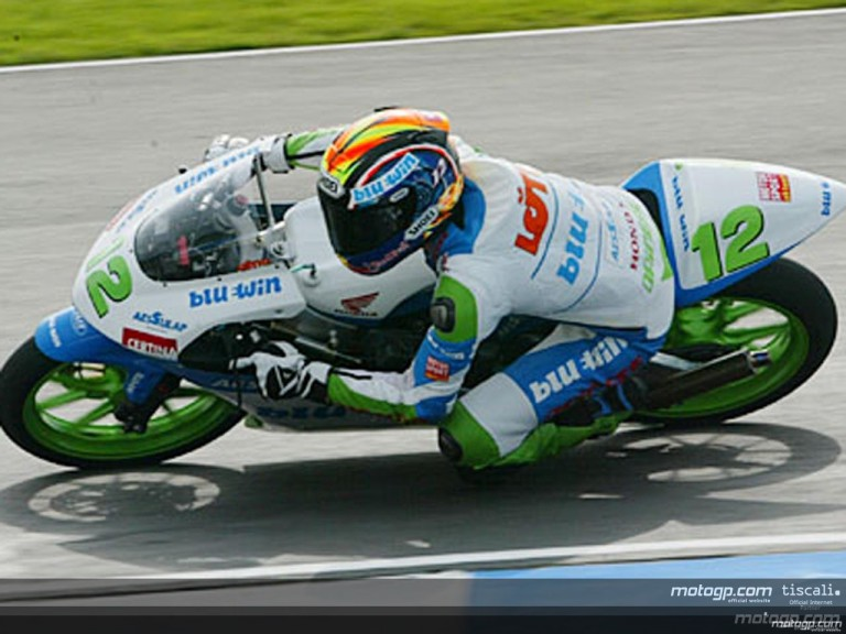 125cc Circuit Action Shots - Donington Park