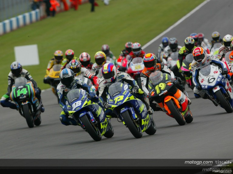 250cc Circuit Action Shots - Donington Park