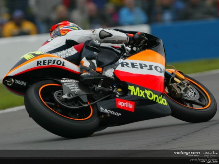 250cc Circuit Action Shots - Donington Park