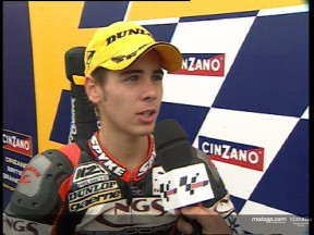 Alvaro Bautista interview after the race