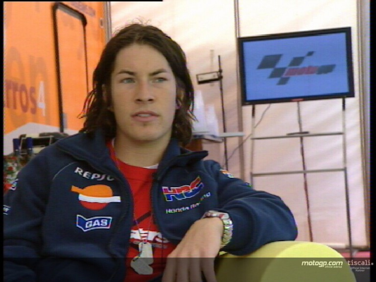Nicky Hayden on his season so far