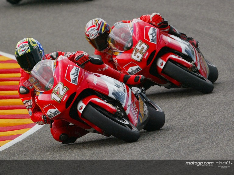 Bayliss & Capirossi action Mugello