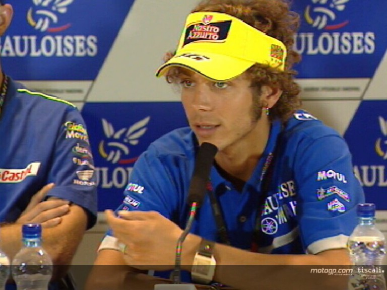 Valentino ROSSI pre-event interview - Brno