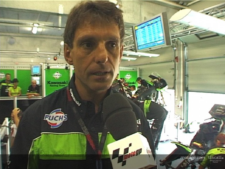 Harald Eckl discusses the changes made by Kawasaki over the summer